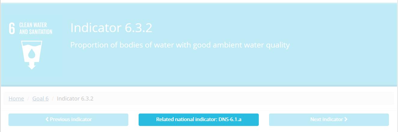 Abbildung 4: Schaltfläche zu verwandtem DNS-Indikator (hervorgehoben)