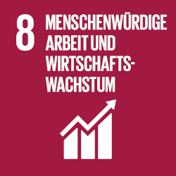 Menschenwürdige Arbeit und Wirtschaftswachstum - Ziel 8